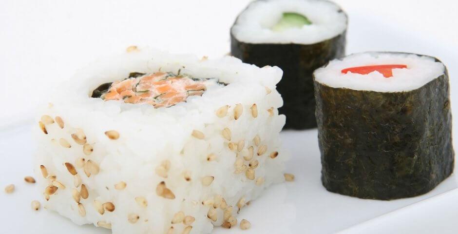 menu per la vigilia di natale sushi fatto in casa