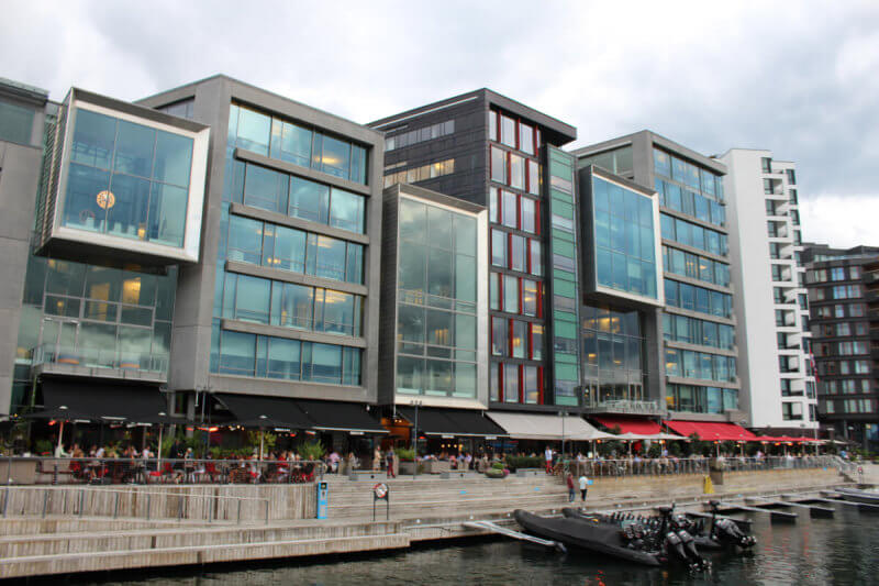 design scandinavo, architettura a Oslo