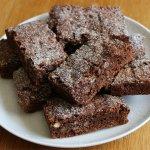 brownies senza zucchero con cacao e cocco
