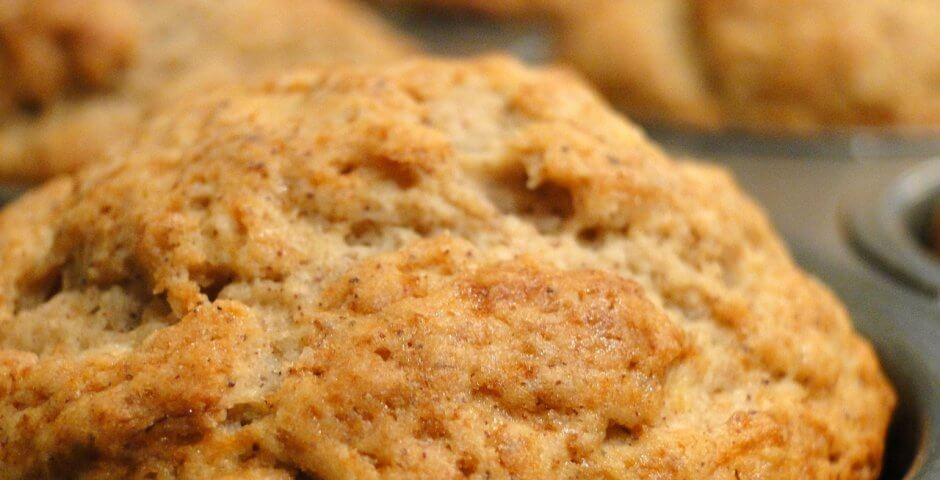 muffin senza zucchero alle banane