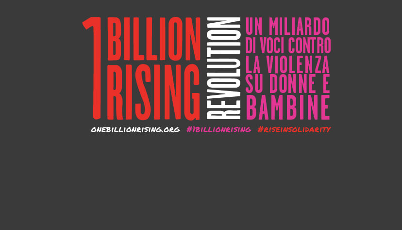 1 billion rising pomezia